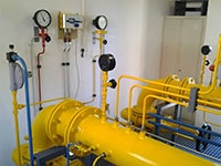 Monitoring of gas pressure regulating systems